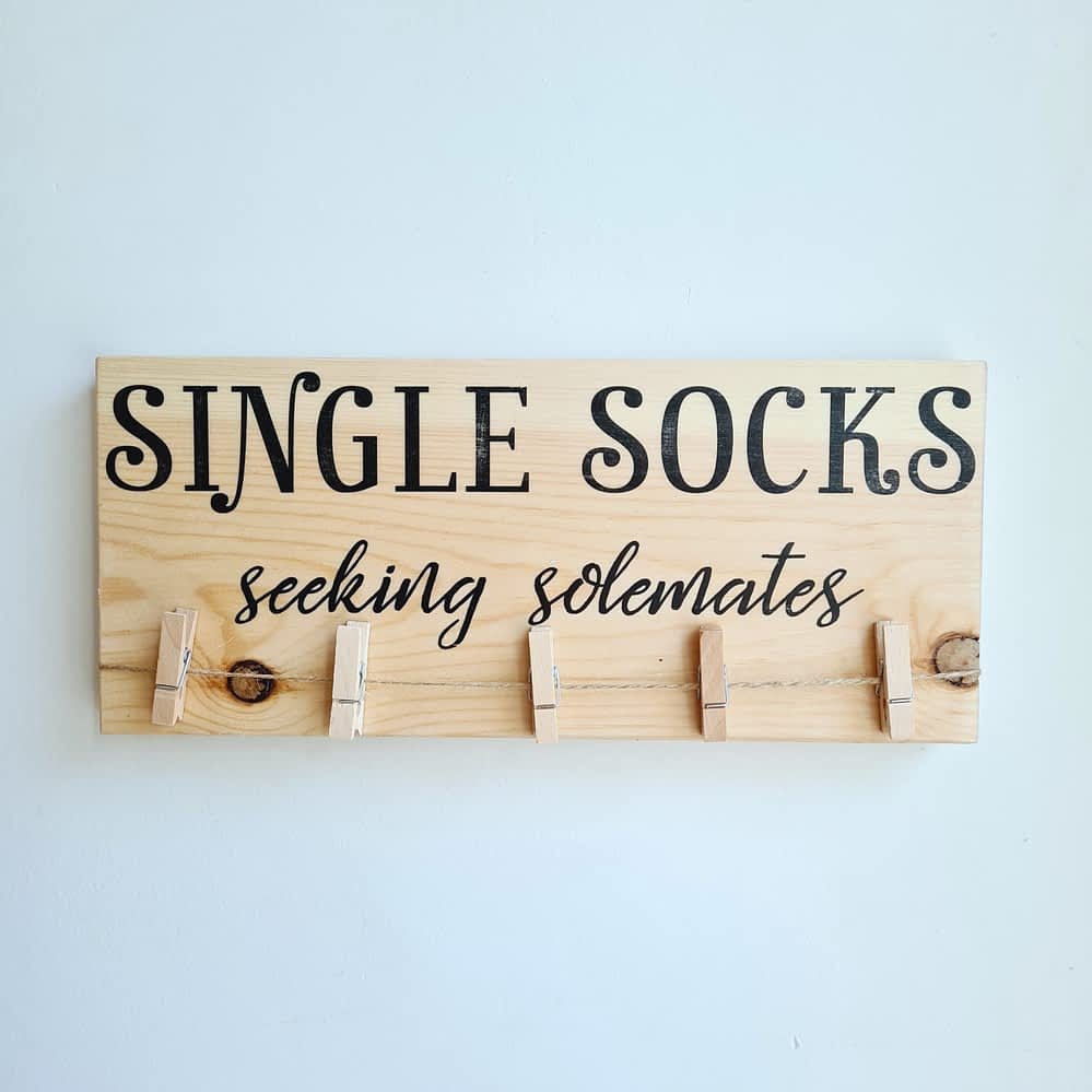 single socks
