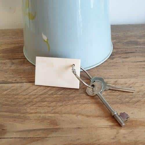 Difficult Roads Keyring