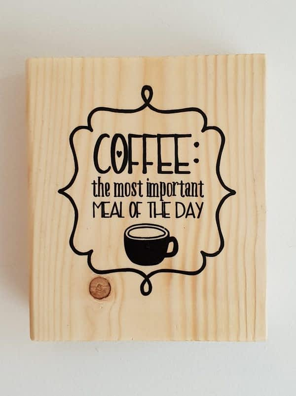 coffee the most important meal of the day