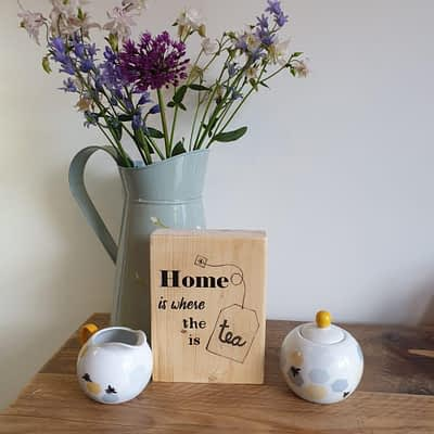 Home is Where the Tea is