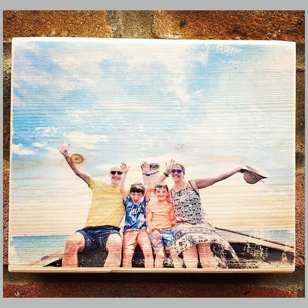 photos on wood shop with us